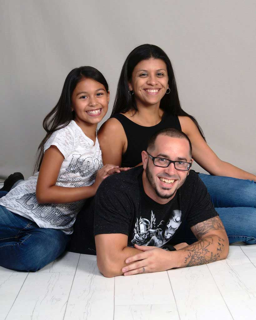 Youth Motivational Speaker Eddie Cortes and Family